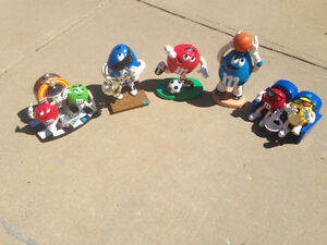 M & M collectible dispensers