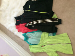 Athletic brand names 10.00 each or take all for 50.00!!