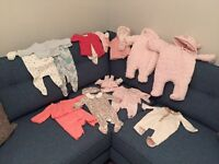 Baby girl up to 1 month bundle