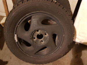 Snow Tires IPIKE C/W original Honda rims