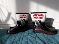 Star Wars Wellington Boots Size 6 and Size 2
