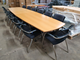 Used 4m x 1m table, seats up to 14, huge Glasgow Showroom