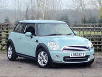 2013/63 1.6 PETROL COOPER AUTO 3DR HATCH (SPORT CHILI) ONLY 400 MILES !!!