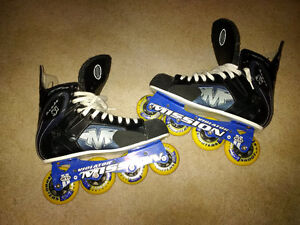 Excellent Mission Proto Si Rollerblades Size 10