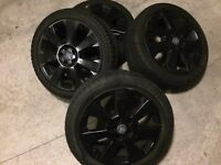 Vauxhall 17 inch alloys with tyres