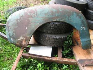 1947-55 Chev/GMC truck rear fenders, used, hard to find