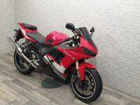 2007 YAMAHA R6 SPORTS BIKE WITH ONLY 23672 MILES AND DATATOOL SYSTEM 4 ALARM
