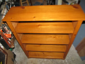 Pine Bookcase, price  REDUCED