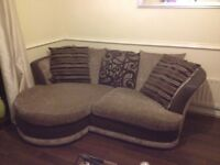Scs small corner sofa good condition