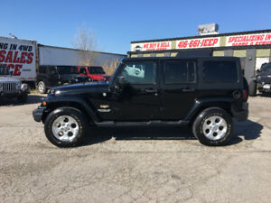 2014 JEEP WRANGLER JK UNLIMITED SAHARA