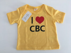 """""""CBC"""" Baby T-Shirt (12 months) - new / never used"""