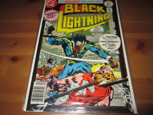 Black Lightning #1 DC Comics First Appearance.