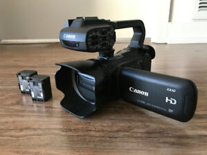 Canon XA10 Camcorder and Accessories