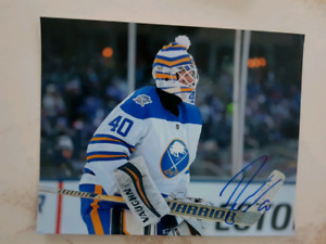 Robin Lehner Autographed 8x10 Photo For Sale