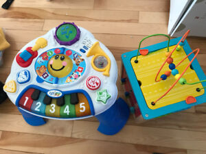 Music table and baby play table