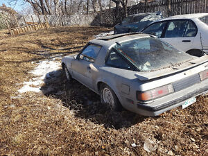 1983 Mazda RX-7 Coupe (2 door) project car