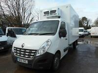 2012 RENAULT MASTER LL35 DCI REFRIGERATED BOX VAN WITH OVERNIGHT INSULATED/REFRI