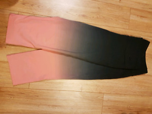 Nike dry fit ombre capri leggings sz L