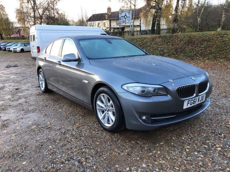 2011 BMW 5 Series 2.0 520d EfficientDynamics 4dr