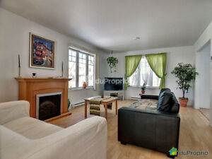 Big bright 3BR townhouse on park - Chateauguay