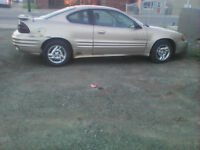 2002 Pontiac Grand Am Coupe (2 door)