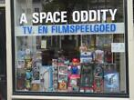 A Space Oddity games merchandise winkel te Amsterdam