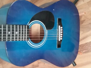 Used Blue Guitar