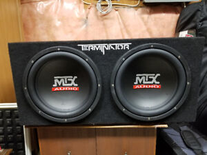 Rock your ride with subwoofer & amplifier!