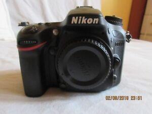 Nikon D7100 /Nikkor 18-55mm VRII lens + Accessories #596 Shutter