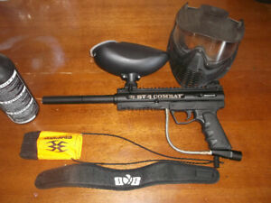 BT Combat 4 Paintball Package