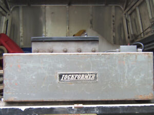 Sheet Metal Equipment - Lockformer Pittsburgh Forming Machine