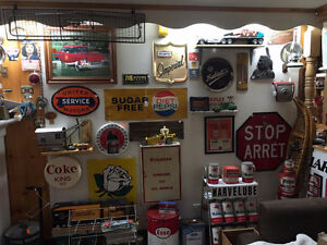 Oil and Gas, Soda Pop Items and much more.....NEW STUFF