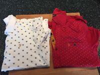 2x Farah Polo shirts