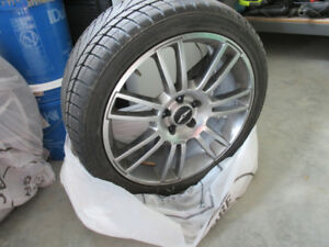 Winter tires for Genesis with Alloy Hyundai wheels