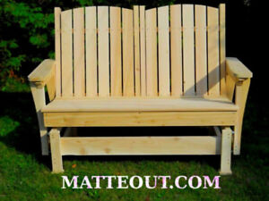 New Matteout Gliding Bench