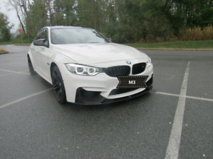 2015 M3 fully loaded. Alpine white