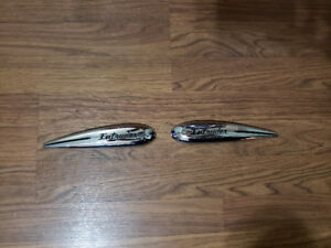 "Suzuki ""Intruder"" gas tank badges"