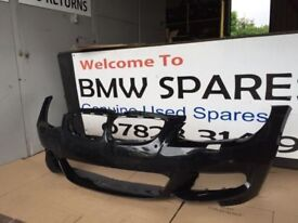 BMW E92 E93 COUPE CONVERTIBLE FRONT BUMPER FACELIFT BLACK BREAKING 1 3 5 6 7 SERIES
