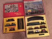 2 Old Triang Hornby train sets