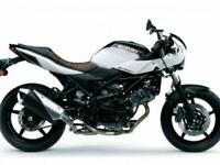 Huge saving on this Pre-Registered Suzuki SV650X Cafe Racer Motorcycle