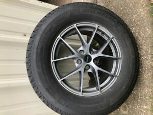Michelin Latitude 245/70R17 winter tires on ALLOYRIMS & TPMS