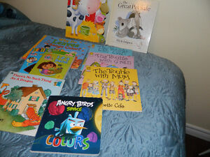 LOT OF (10) KIDS BOOKS