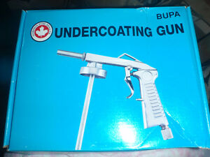 bupa undercoating gun brand new in box never used