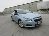 2012 Chevrolet Cruze, 4 Door, Automatic, Only 79000 km, Certify