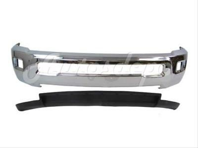 For DODGE RAM 2500 3500 2WD 2010-2012 FRONT BUMPER CHROME AIR DAM W/FOG HOLE