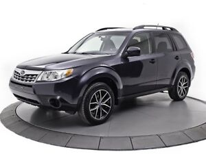 2012 Subaru Forester 2.5X AWD CONVENIENCE *BAS KM* MAGS NOIRS 2.