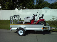 2012 Utility trailer and Lawn tractor, can be separate