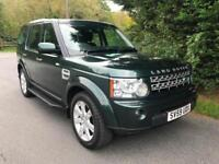 2009 (59) REG LAND ROVER DISCOVERY 4 GS 3.0 SDV6 4X4 7 SEATER TURBO DIESEL