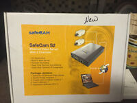 New - Ethernet Video Server with 2 channels Surveillance product