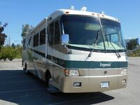 1999 Class A, Holiday Ramber Imperial 40 ft.Ready to go south.